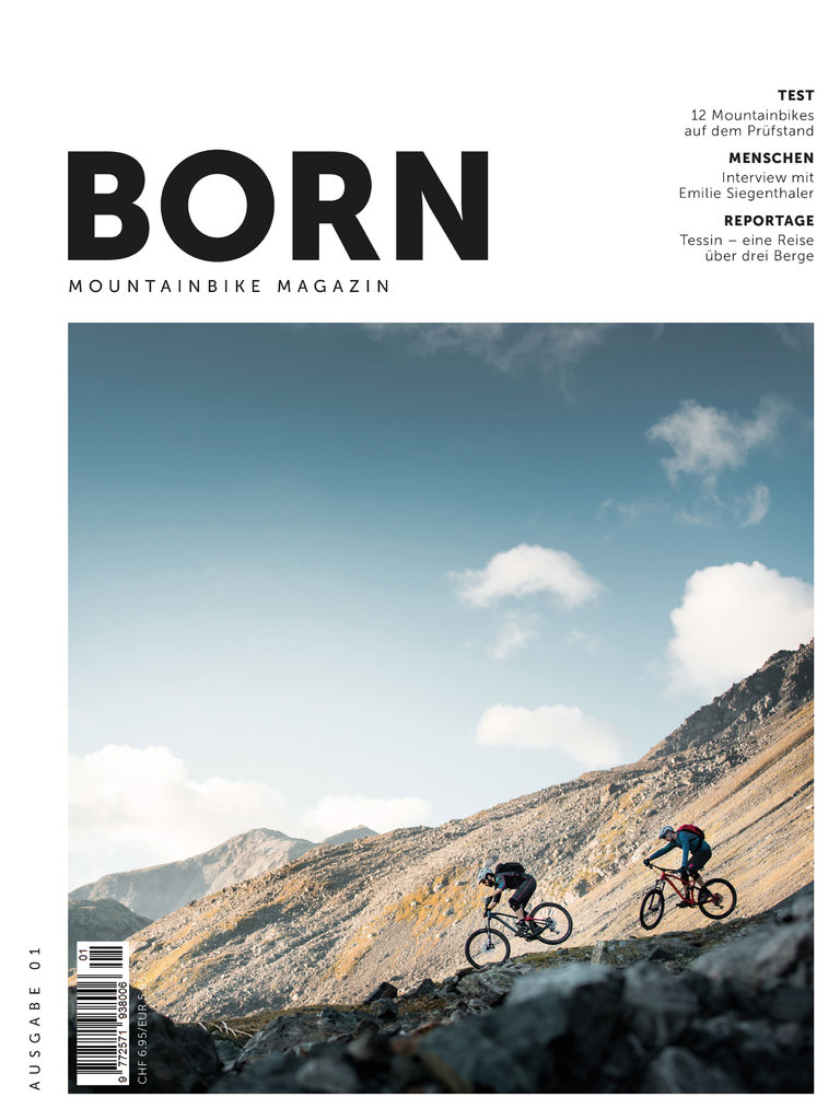 BORN - Moutainbike Magazin - N° 01