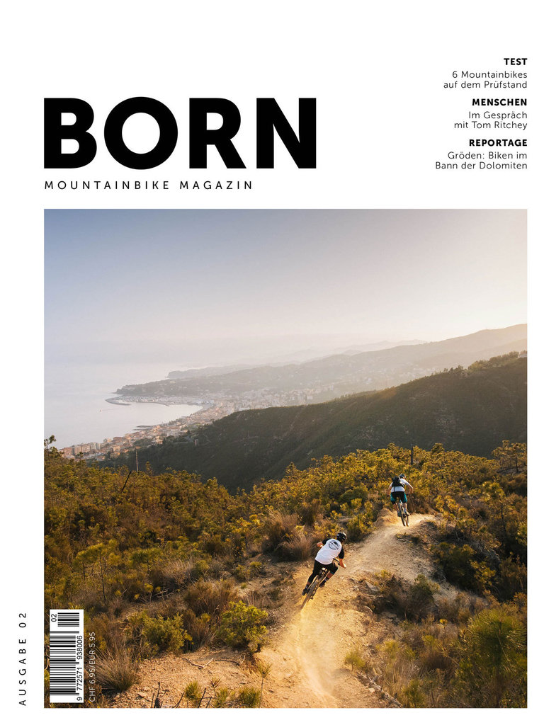 BORN - Moutainbike Magazin - N° 02