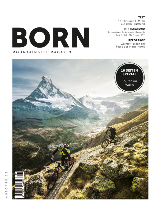 BORN - Mountainbike Magazin - N° 03