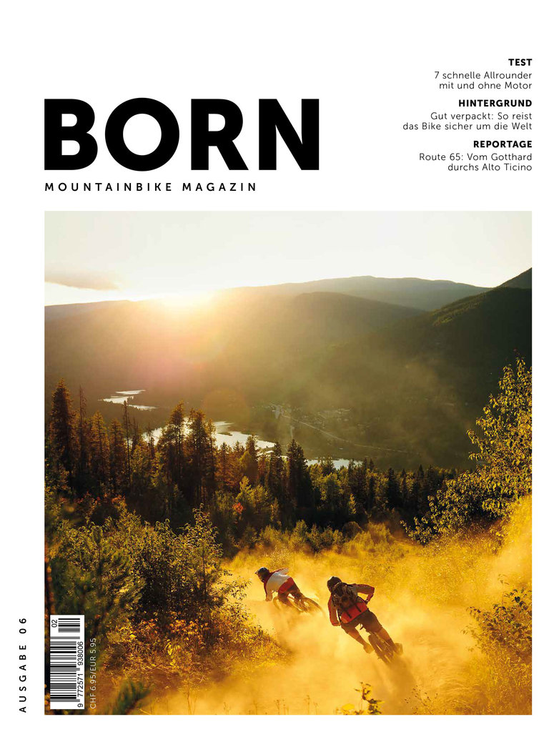 BORN - Mountainbike Magazin - N° 06