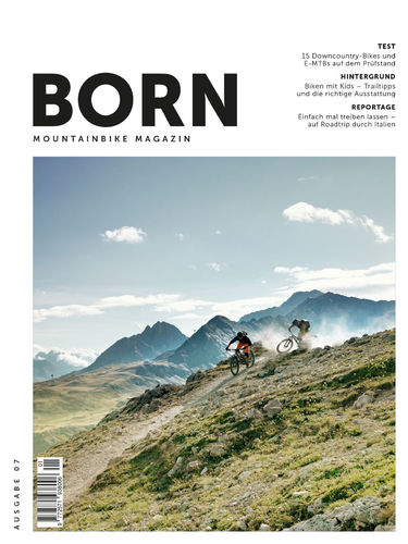 BORN Mountainbike Magazin N° 07 - April 2021