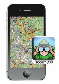 Freeride Map App von Scout